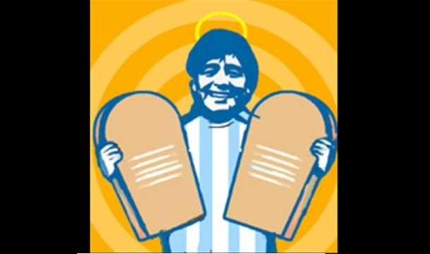 Zifahamu amri 10 za dini ya Diego Maradona
