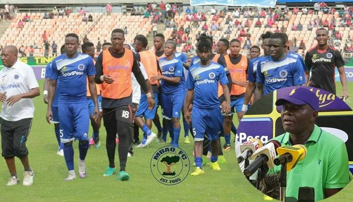 MBAO FC WAAMUA KUMBEBA ZAHERA...WAITOA GOR MAHIA