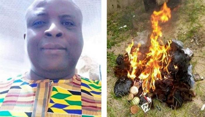 Mchungaji achoma mawigi na vipodozi vya muumini wake kisa kutokutana na Yesu